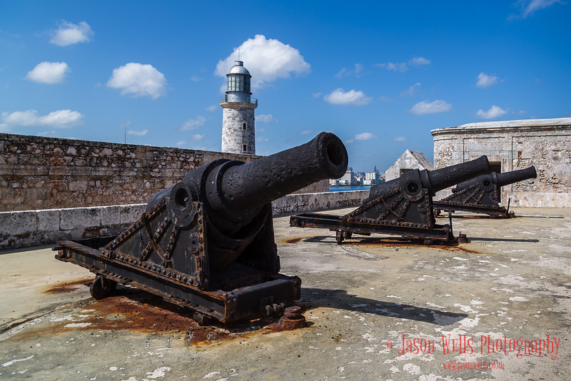 Cannons which protected Morro Castle & the city