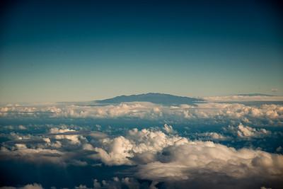 Mauna Kea and Mauna Loa -- Big Island