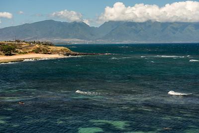 Hookipa Park bay, Maui