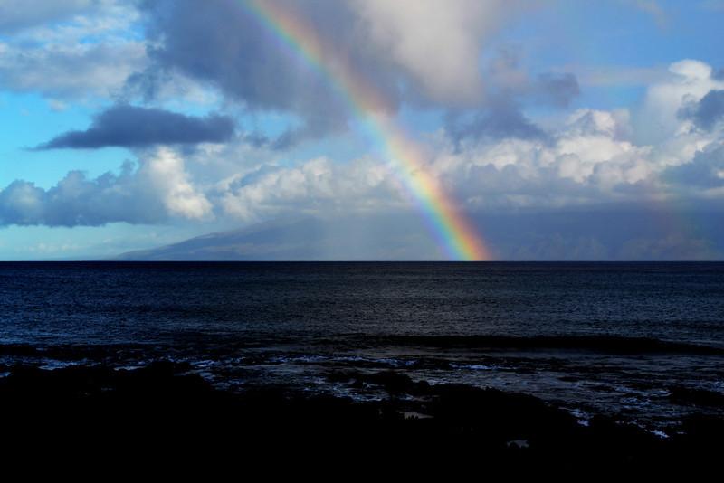 Rainbow at Maui in Hawaii