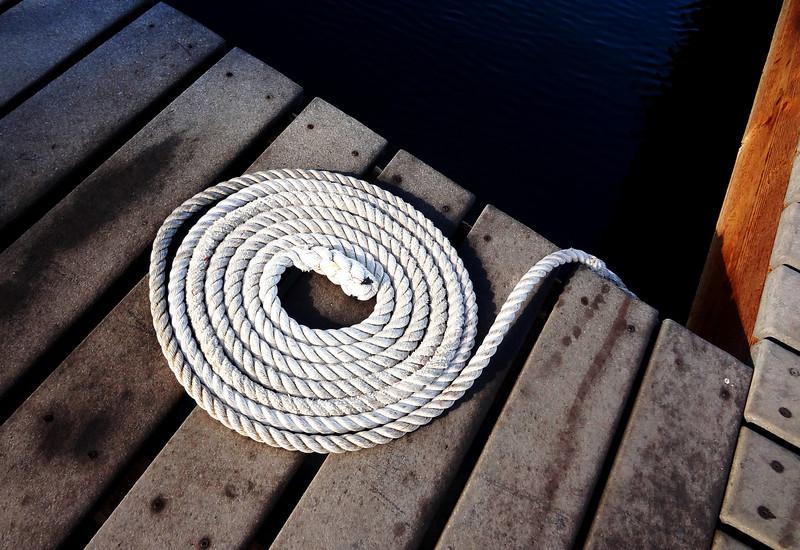 Rope in Lahaina Maui Hawaii