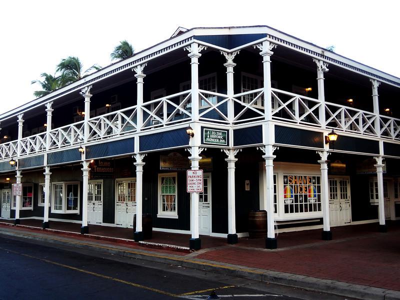 Pioneer Inn in Lahaina Maui Hawaii