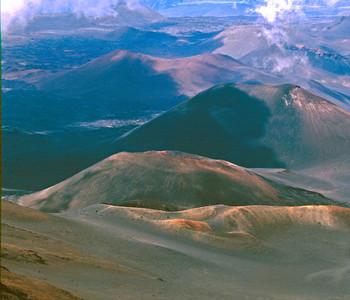 Haleakala Crater from Crater Rim near Kalahaku Overlook