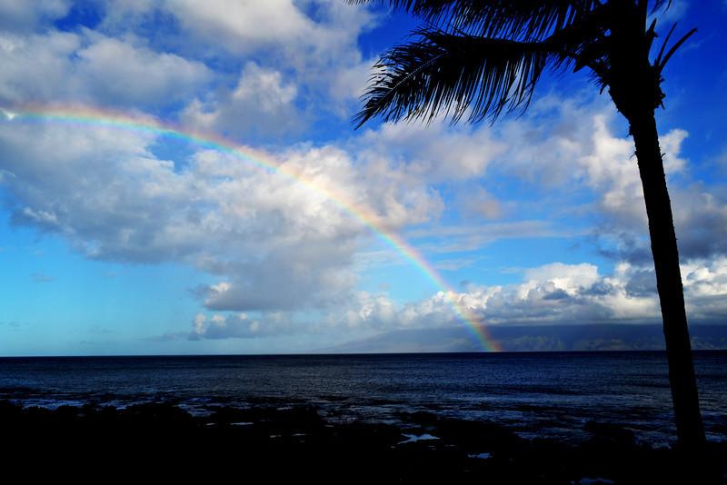 Rainbow at Maui in Hawaii 2