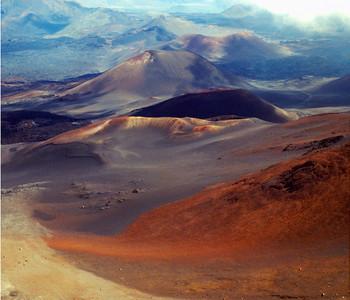 Haleakala Crater from Leleiwi Overlook