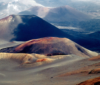 Haleakala Crater from Crater Rim