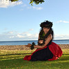 Hula Dancer in Maui Hawaii