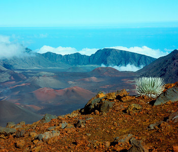 Haleakala Crater from Crater Rim near Kalahaku Overlook