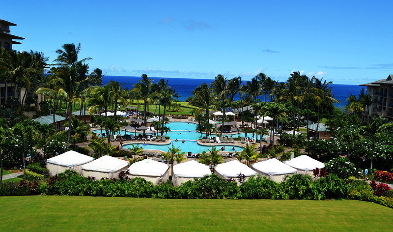 Ritz Carlton Resort near Kapalua in Maui Hawaii