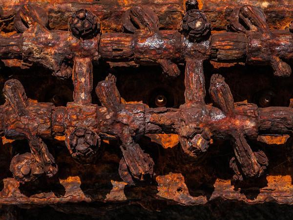 Old rusting machinery on Kauai