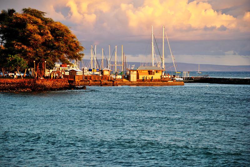 Lahaina Harbor in Maui Hawaii 3