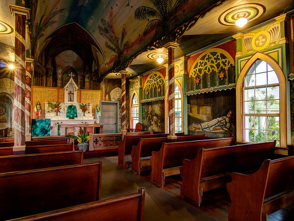 Painted Church - Big Island - Hawaii - September 2012