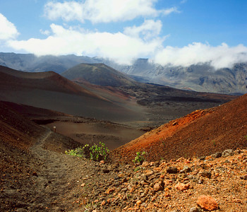 Haleakala Crater, Sliding Sands Trail