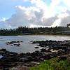 Shore near Napolii in Maui in Hawaii