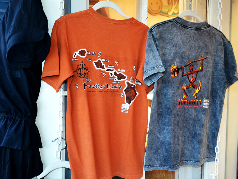 Red Dirt T-Shirt dyed from the red dirt on the Island of Maui Hawaii