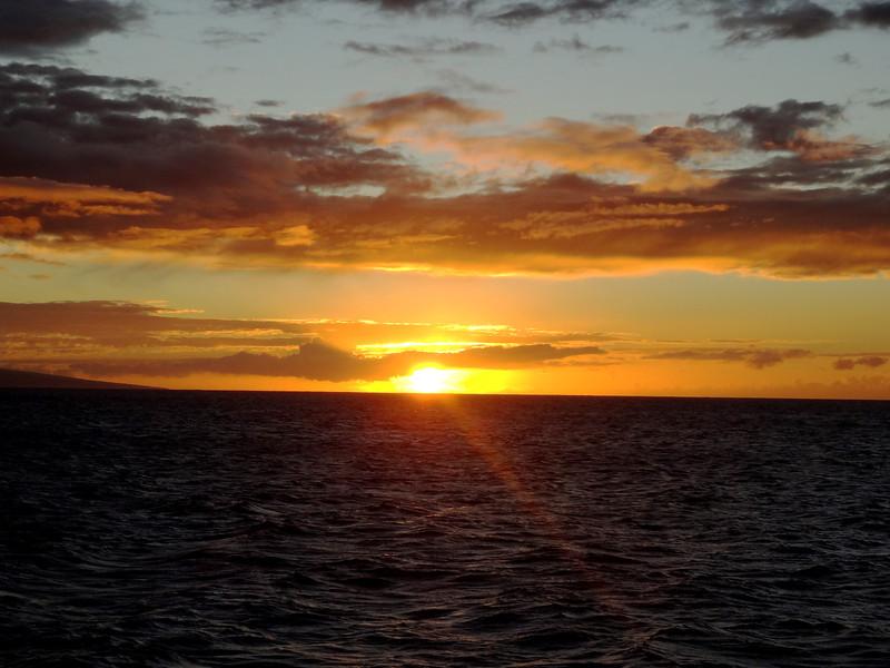Sunset near Kaanapali in Maui Hawaii 3