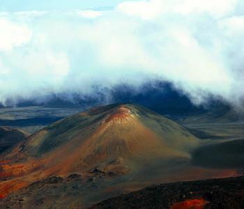 Haleakala Crater from near Visitor Center