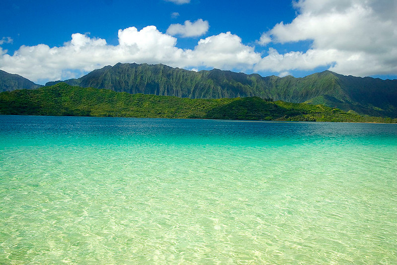 Kaneohe Bay as Captain Cook saw it.  ©Tomas del Amo