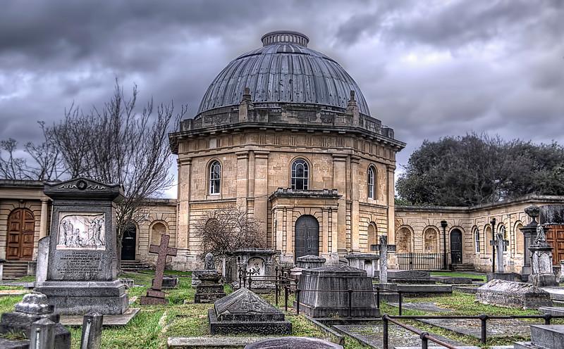 Brompton Cemetery Chapel, London