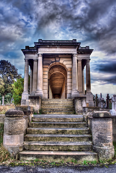Brompton Cemetery HDR photo
