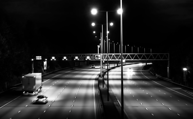 M25 motorway bridge