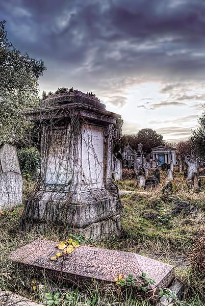 Brompton Cemetery Fulham London