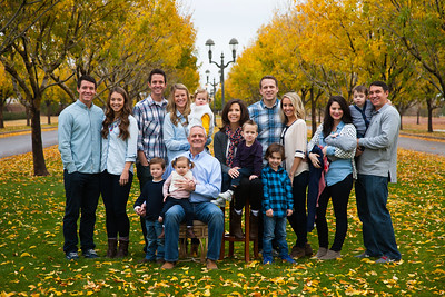 Rogers Fall Family Photo, Gilbert, Arizona
