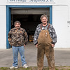 Ricky H. - Trucker (and his buddy Lee B.), Wanchese, NC