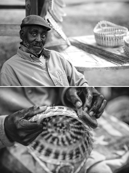 Eugene - Sweetgrass basket weaver - Mt. Pleasant, SC