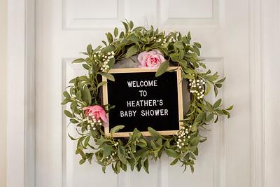 Heather's Baby Shower