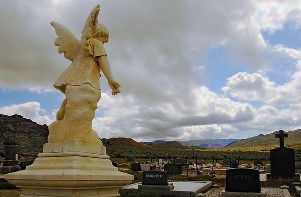 Angel & Clouds