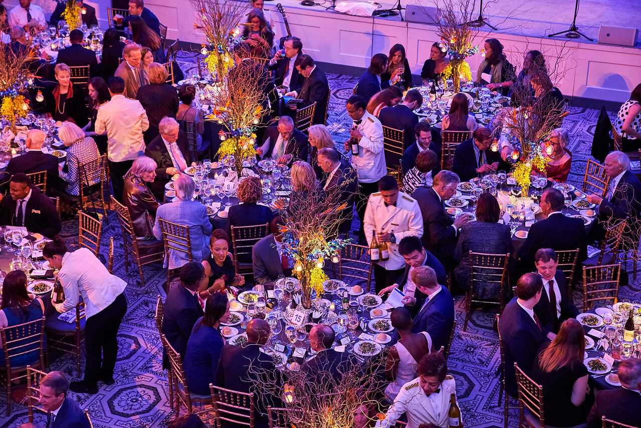 May 10 2017- New York, NY USA, held at 583 Park Avenue  Carla Hall Jim Alling Kathy Spahn Pooja Pandey Rana Fade Freddy PS 22 Chorus  Credit: Robert Altman