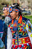 Color abounds in every contestant's ceremonial attire.