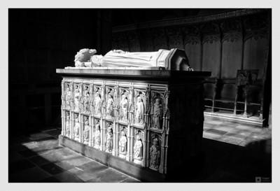 Margrete I's sarcophagus. / Sarkofagen til Margrete I.