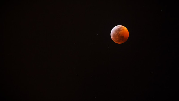 Super Blood Wolf Moon 2019 approaches totality