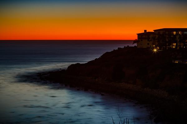 Terranea at twilight