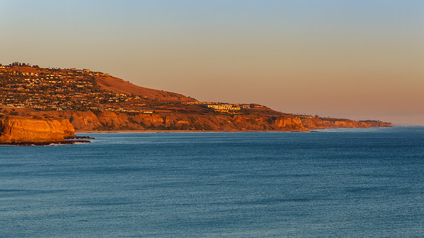 Palos Verdes from Portuguese Point to Point Fermin...can even see the Lighthouse and Korean Friendship Bell