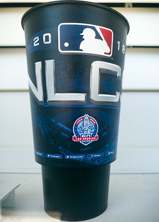 NLCS souvenir cup from 2018...we won that game, so I HAD to save the cup