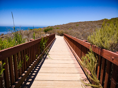 The western bridges on Catalina Trail