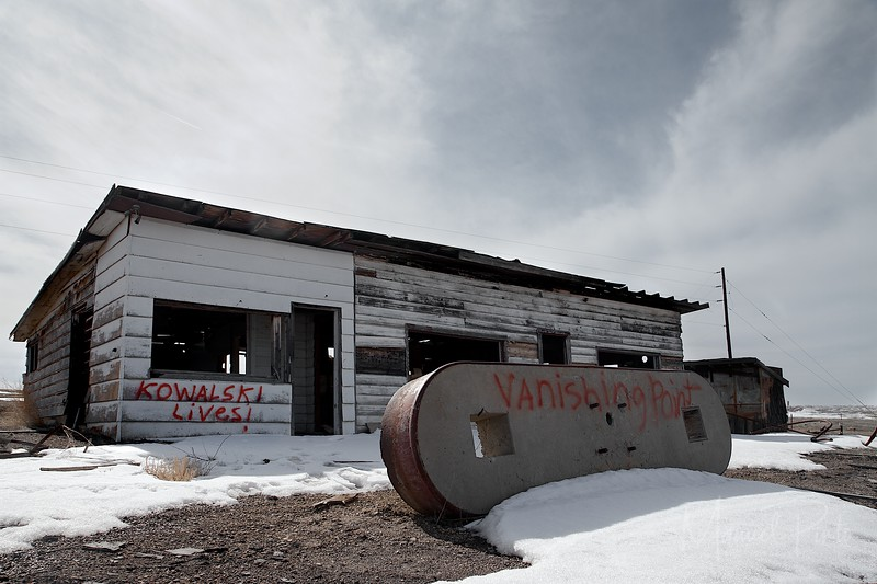 Abandoned Restaurant and Gas Station