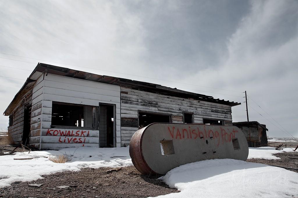 Abandoned Restaurant and Gas Station<br /> Cisco, Utah