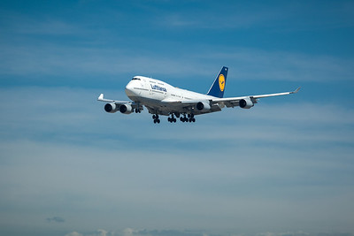 I flew to Frankfurt on one of Lufthansa's Boeing 747's earlier this year