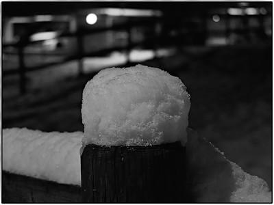 Boule en neige | Snow ball