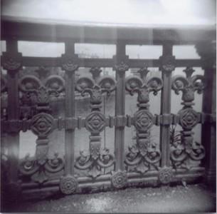 Longfellow Bridge railing.