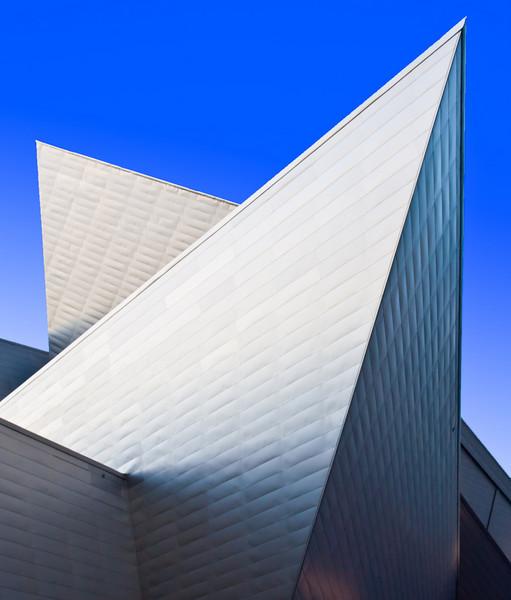 Fredrick C. Hamilton Building, a Denver Art Museum extension designed by Daniel Libeskind