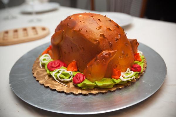 Turkey cake!