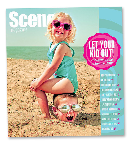 Concept, Photography and image editing: <br /> Cover: Cleveland Scene 2012.