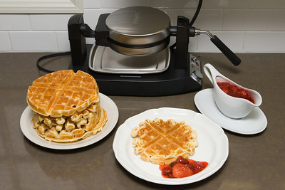 Of course, Valerie uses this to make her famous strawberry waffles...