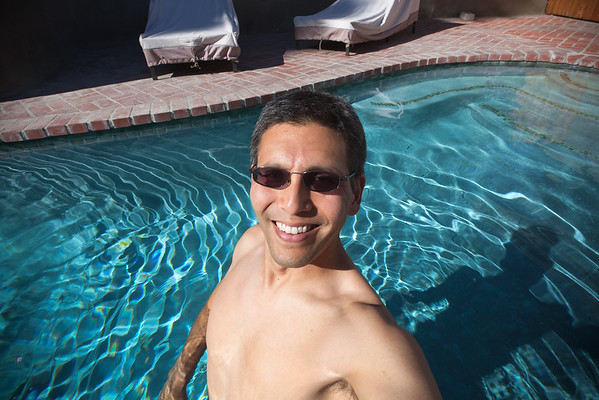 Proof I am in the water.  Pool season has officially begun!