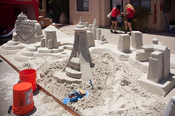 Sand castle Las Vegas